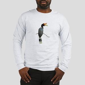 hornbill 3 long sleeve t-shirt