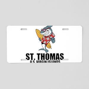St. Thomas, U.S. Virgin Islands Aluminum License P