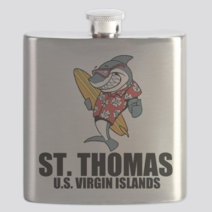 St. Thomas, U.S. Virgin Islands Flask