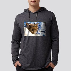 Snuggly Kitty Long Sleeve T-Shirt