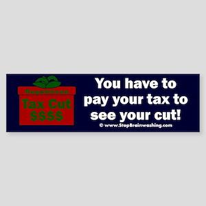 Trump Tax Cut Sticker (Bumper)