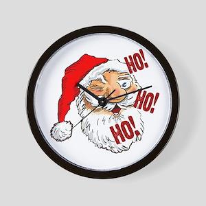 Ho Ho Ho Merry Christmas! Wall Clock