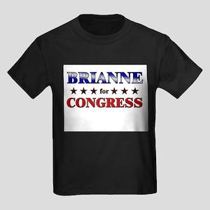 BRIANNE for congress Kids Dark T-Shirt