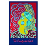 Large Poster<br>The Confused Girl