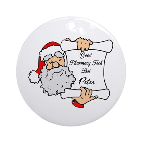 peter Ornament (Round)