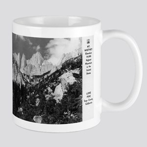 Lone Pine, CA - Mt. Whitney - Vintage Photo Mugs
