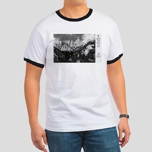 Lone Pine, CA - Mt. Whitney - Vintage Photo T-Shir