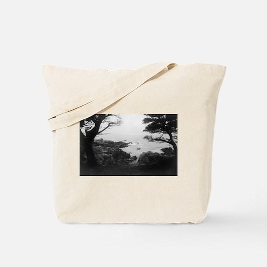 Carmel, CA - Monterey Bay Tote Bag