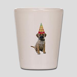 Puggle Birthday Shot Glass