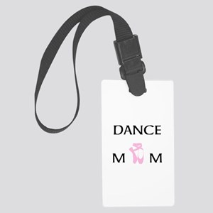 Team Dance Mom Candy Curls Large Luggage Tag