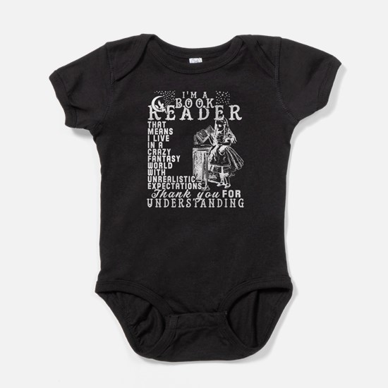 I'm A Book Reader T Shirt Body Suit