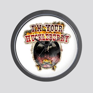Doc holiday tombstone gifts Wall Clock