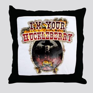 Doc holiday tombstone gifts Throw Pillow