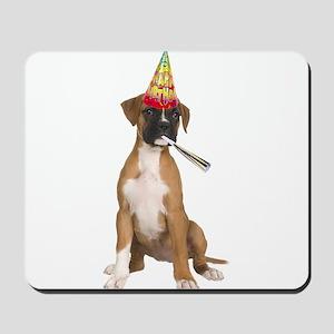 Boxer Birthday Mousepad
