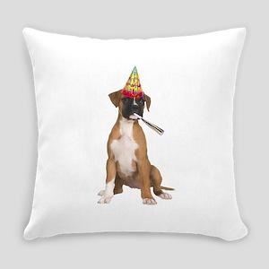 Boxer Birthday Everyday Pillow