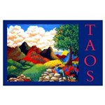 Large Poster<br>Taos New Mexico