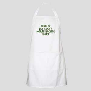 Lucky Horse Racing BBQ Apron