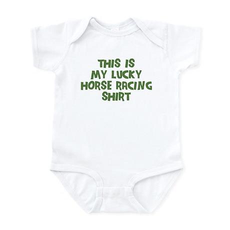 Lucky Horse Racing Infant Bodysuit