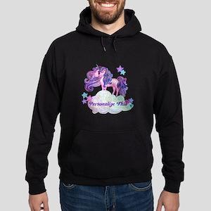 Watercolor Unicorn Monogram Sweatshirt