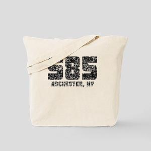 585 Rochester NY Area Code Tote Bag