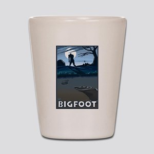 Big Foot Shot Glass