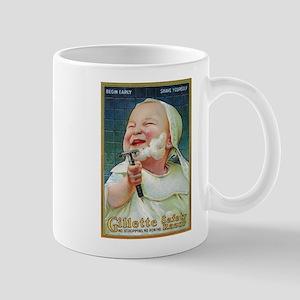 Gillette Safety Razor - Vintage Promo Poster Mugs