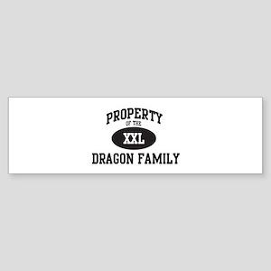 Property of Dragon Family Bumper Sticker