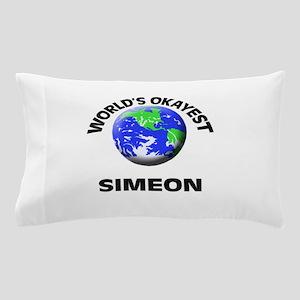 World's Okayest Simeon Pillow Case