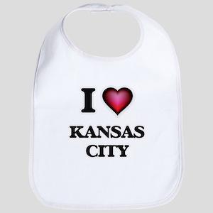 I love Kansas City Missouri Bib