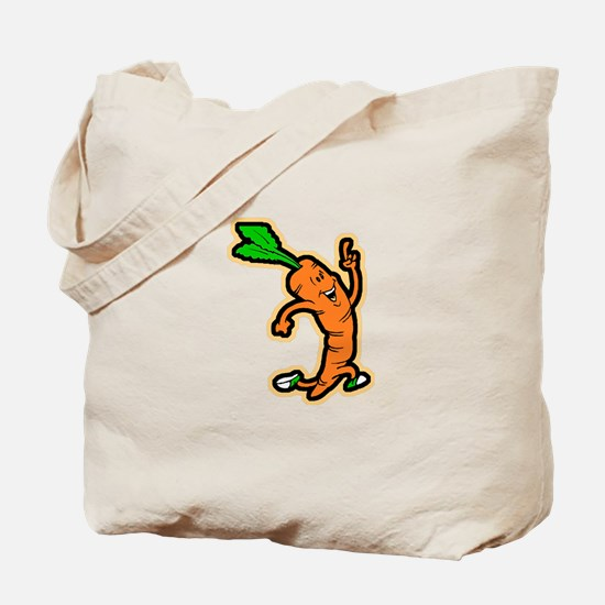 Dancing Carrot Tote Bag