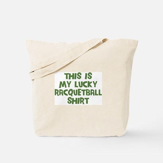 Lucky Racquetball Tote Bag