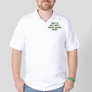 Lucky Board Games Golf Shirt