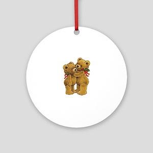 Christmas Bears Ornament (Round)
