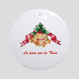 French Ornament (Round)