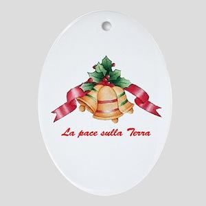 Italian Oval Ornament