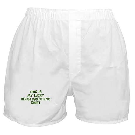 Lucky Beach Wrestling Boxer Shorts