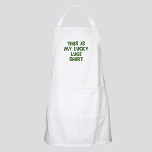Lucky Luge BBQ Apron