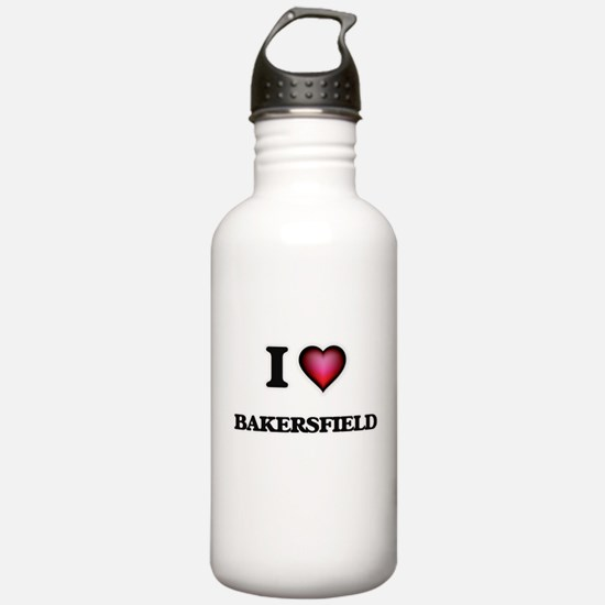 I love Bakersfield Cal Water Bottle