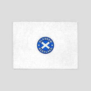 Glasgow Scotland 5'x7'Area Rug