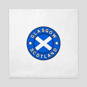 Glasgow Scotland Queen Duvet