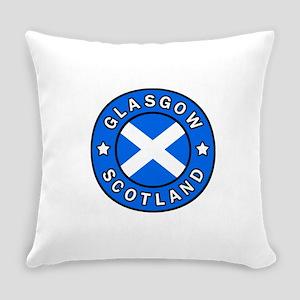 Glasgow Scotland Everyday Pillow