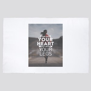 Run With Your Heart 4' x 6' Rug