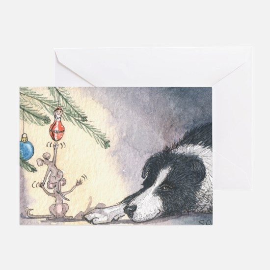 Peace on earth and goodwill t Greeting Card