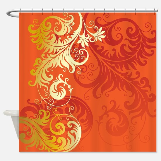 Unique Filigree Shower Curtain
