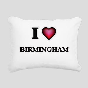 I love Birmingham Alabam Rectangular Canvas Pillow