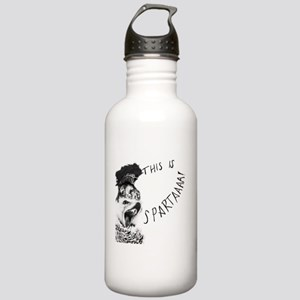 Black/White Sparta Hed Stainless Water Bottle 1.0L