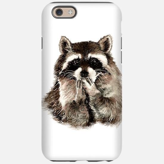 Cute Humorous Watercolor Ra iPhone 6/6s Tough Case
