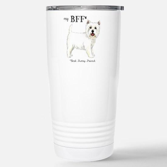 Westie BFF Stainless Steel Travel Mug