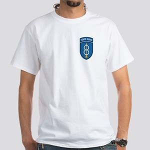 8th Infantry Division<BR> White T-Shirt
