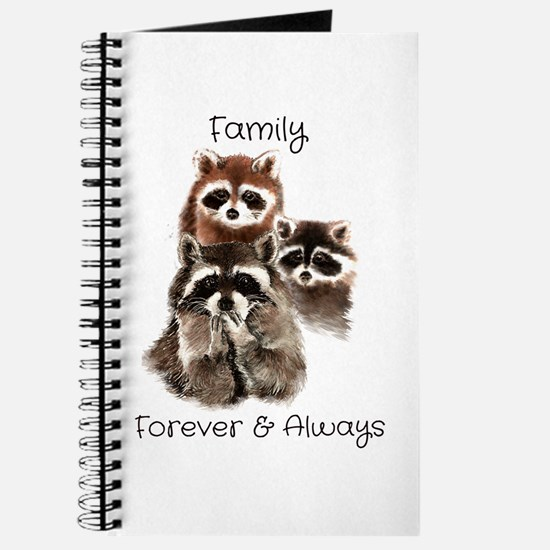 Family Forever Always Quote Watercolor Ra Journal
